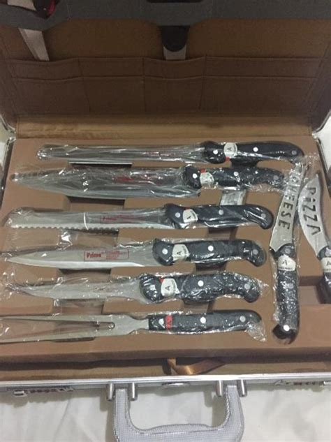 prima  pcs deluxe knife set  dudley