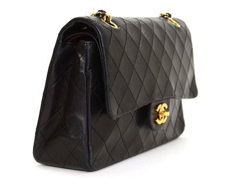 Chanel Reissue Medium Pink Jersey Ghw 11 Handbag chanel vintage 80 s black quilted lambskin 10 quot classic