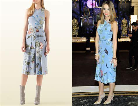 Catwalk To Carpet Camilla In Gucci by Camilla S Gucci Floral Dress Carpet Fashion Awards