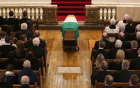 the funeral of martin mcguinness was one of a the