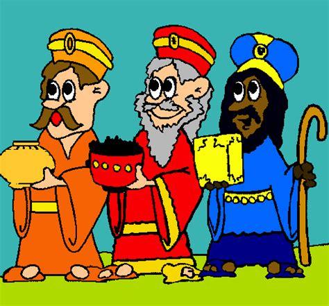 imagenes de los reyes magos con el niño jesus dibujo de los reyes magos pintado por kelly en dibujos net