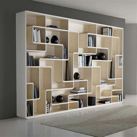 Contemporary Bookcase by 15 Inspirations Of Contemporary Bookcase