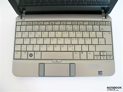 Keyboard Netbook Hp review hp mini 2140 netbook notebookcheck net reviews