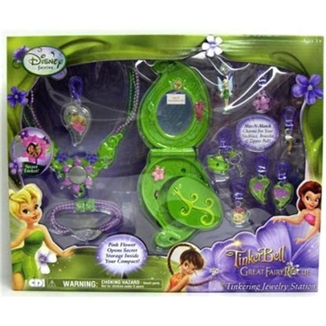 Station Tinker Set disney fairies toys tinkering jewelry station at toystop