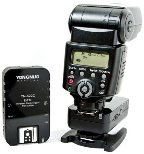 Yongnuo Yn 622c yongnuo yn 622c e ttl wireless flash trigger review