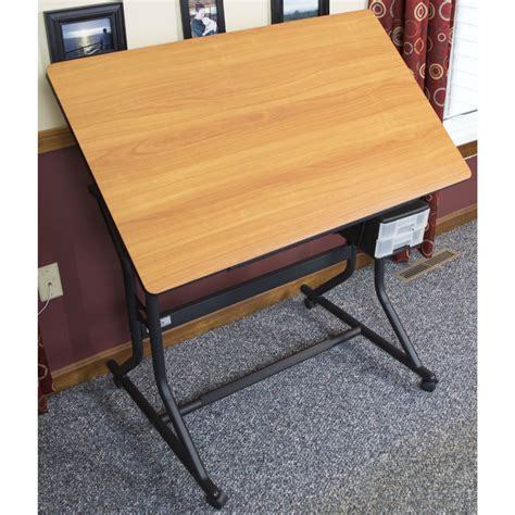 drafting table hobby lobby shops wheels and desk height on vision craft table with stool shop