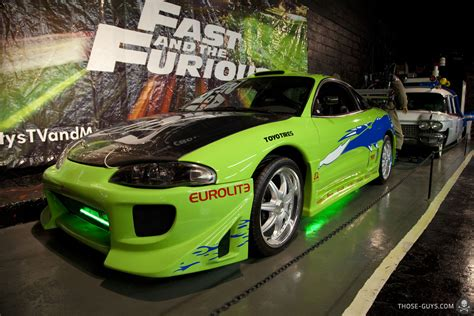 fast and furious 1 cars mitsubishi eclipse starring in fast and the furious on
