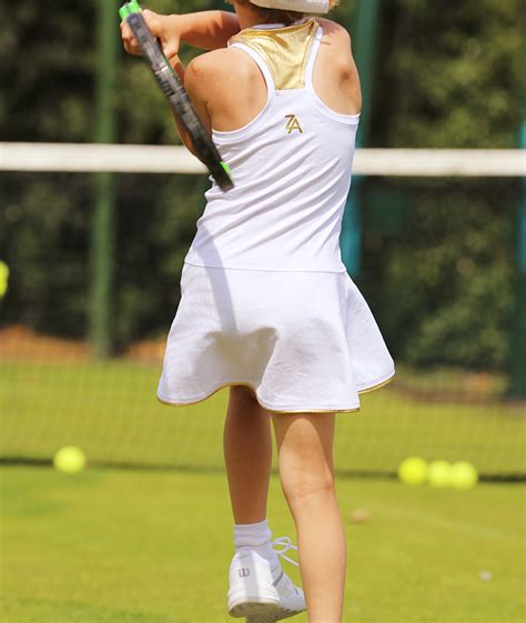 wimbledon white tennis dress tennis clothing by