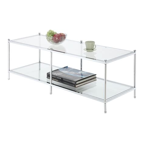 Crest Coffee Table Convenience Concepts Royal Crest Coffee Table On Sale