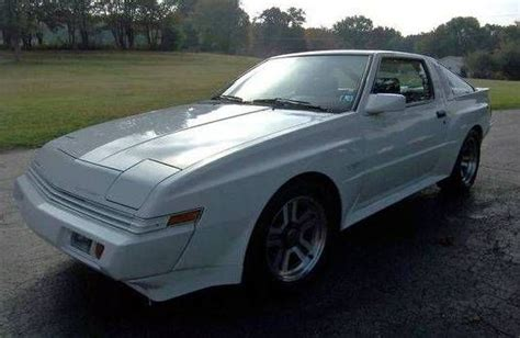 chrysler conquest stanced 1987 chrysler conquest tsi found on hemmings pinterest