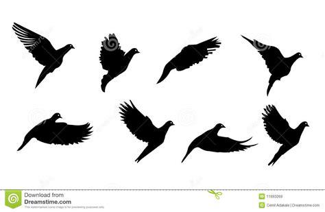 Wall Stickers Bird Cage zwarte vogel het vliegen symboolvector vector illustratie