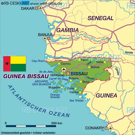 guinea bissau world map map of guinea bissau map in the atlas of the world