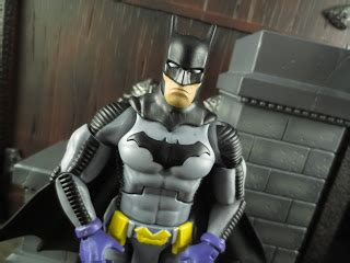 Mainan Figure Batman Zero Years figure barbecue figure review batman zero