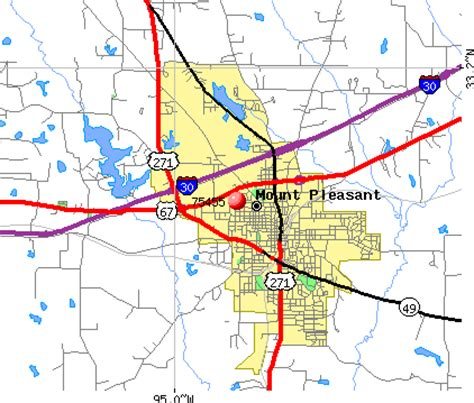 map of mount pleasant texas 75455 zip code mount pleasant texas profile homes apartments schools population income