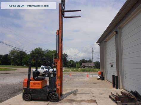 5fgc15 Toyota Forklift Toyota 5fgc15 Forklift 3200 Lb Capacity 3 Stage Mast
