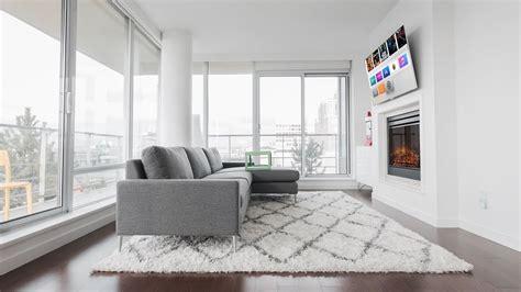 modern 4k living room setup tour 2018
