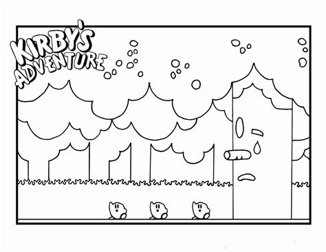 kirby super star coloring page coloring pages to print of kirby az coloring pages