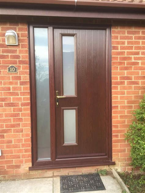 Upvc Front Doors Fitted Doors Fitted Modern Grey Upvc Front Door Home Door Ideas More Fitted Solidor Timber Composite
