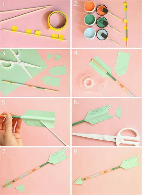 diy decorations step by step diy decorative arrows evite