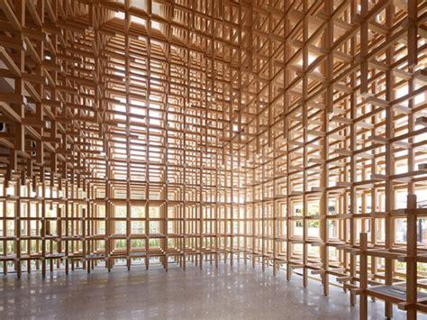 Kengo Kuma Rethinks The Of Kengo Kuma Au Naturel Archpaper