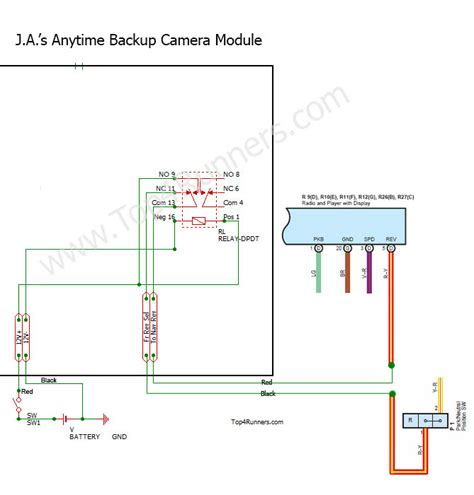 toyota tacoma backup wiring diagram wiring diagram