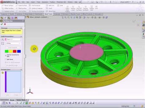 solidworks tutorial mold design solidworks mold design youtube