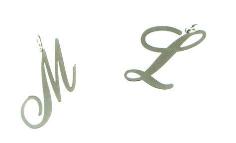gioielli con lettere gioielli con nome