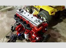 Ford Cummins Swap Projects 5.9 24v Ve Pump - YouTube 24v Cummins P Pump Conversion Kit