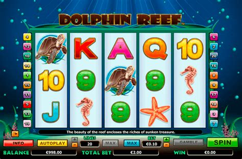 play dolphin reef  slot nextgen gaming casino slots