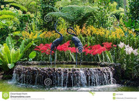 Botanic Garden Free Day by Botanic Garden With Beautiful Flower Decoration Royalty