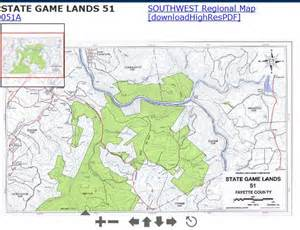 Pa State Game Lands Map accessible hunter pa state game lands maps