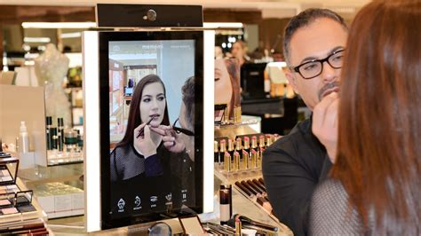 Launch Of Shop Vogue Interactive Advertisement Site by Interactive Magic Mirrors Are Changing How We See Our
