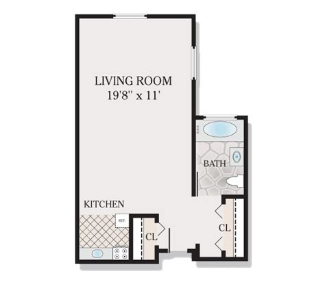 500 sq ft studio floor plans floor plans forest hill terrace apartments for rent in