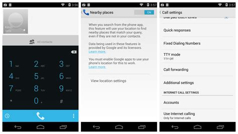 dialer app for android ad code found in kitkat s dialer raises eyebrows but there s no reason for alarm