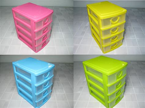 plastic desk with storage 4 drawer mini desk draw storage tray office home organizer