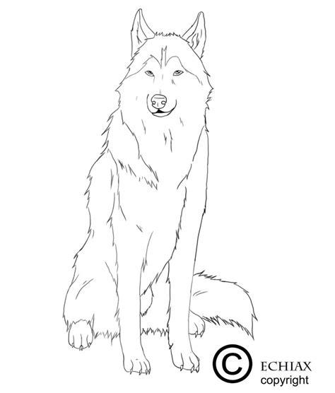 Siberian Husky Coloring Pages Alaskan Husky Sketch Templates by Siberian Husky Coloring Pages