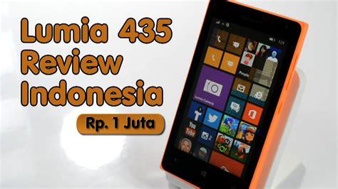 Microsoft Phone Indonesia lumia 435 review indonesia 1juta dapet windows phone
