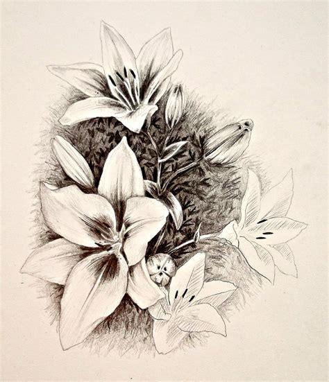 flower sketch by reedaoma on deviantart