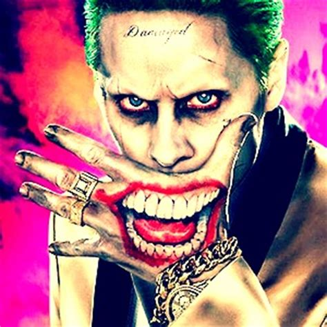 joker mouth tattoo 20 day post suicide squad release challenge suicide
