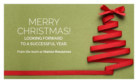 merry christmas   human resources team human resources