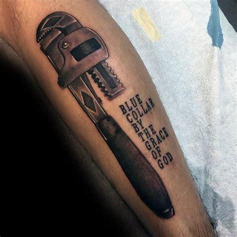 plumbing tattoos 30 plumbing tattoos for plumber design ideas
