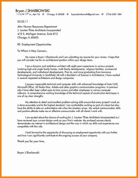 10 architecture cover letter how to make a cv