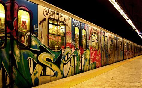 train graffiti train station wallpapers hd desktop