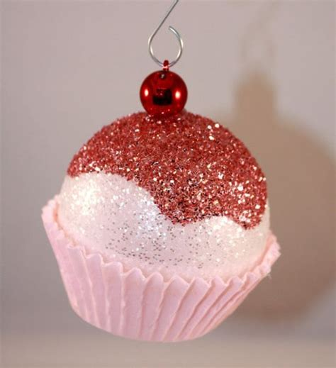 diy christmas cupcake ornament handspire