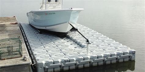 drive on boat dock systems drive on boat lift and hdpe docking systems dock blocks