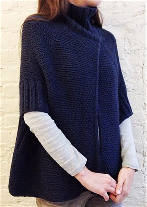 modern sweater knitting patterns modern poncho knitting patterns in the loop knitting