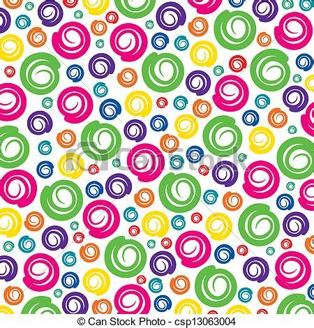 pattern stock clipart colorful swirl pattern background stock vector vector