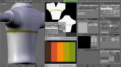 blender materials and texture painting pt3