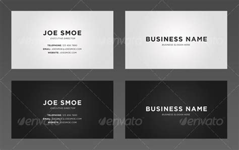 easy business cards template 35 modern corporate psd business card templates web