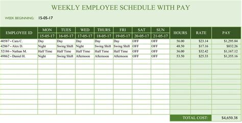 roster timetable template 25 best ideas about daily schedule template on